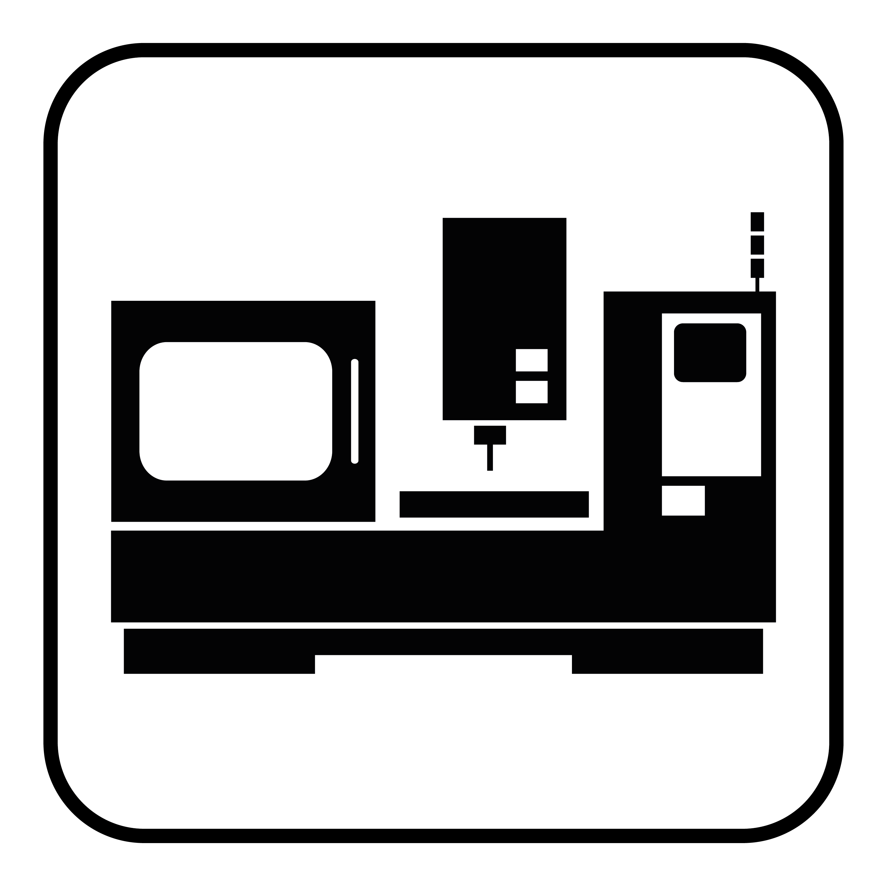 Industrial machinery icon