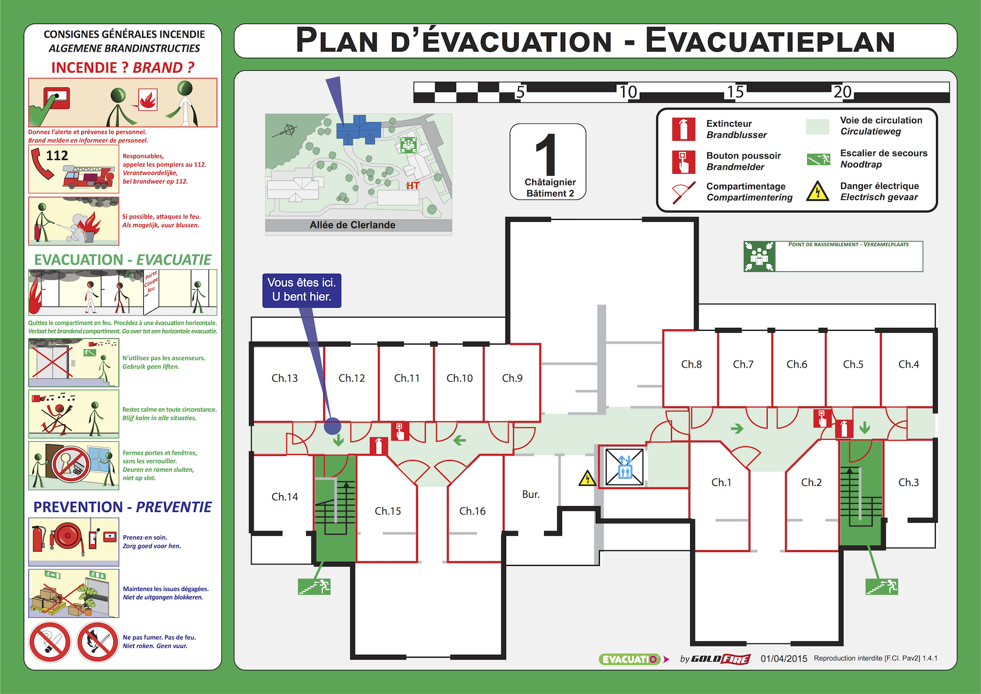 plan evacuation hopital